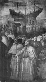 Image 2: Tintoretto, Arrival of Saint Mark's Body in Venice.
